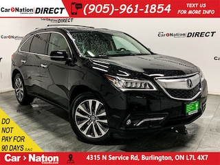2015 Acura MDX Navigation Package| SUNROOF| AWD| SUV