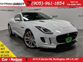 2016 Jaguar F-TYPE S| SUNROOF| NAVI| LOW KM'S| Coupe