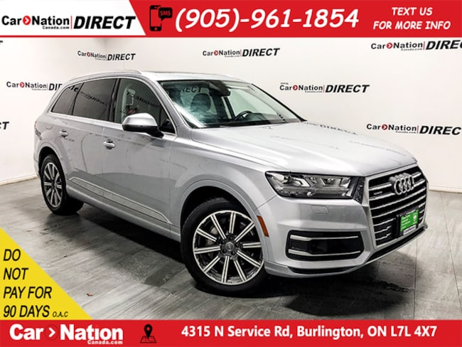 Used Silver 2017 Audi Q7 For Sale Car Nation Canada Direct