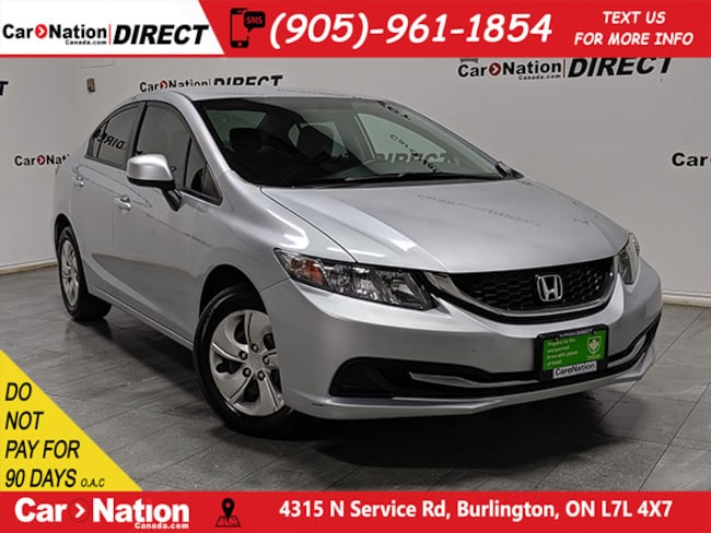 2013 Honda Civic LX| LOCAL TRADE| HEATED SEATS| Sedan