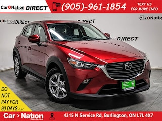 2019 Mazda CX-3 GS Luxury| AWD| LEATHER-TRIMMED SEATS| SUNROOF| SUV