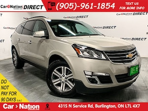 2016 Chevrolet Traverse LT 2LT| AWD| NAVI| BACK UP CAMERA & SENSORS|