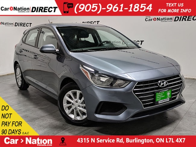 Used Grey 2019 Hyundai Accent For Sale Car Nation Canada Direct