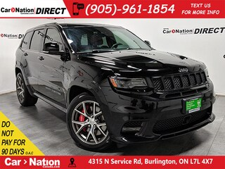 2017 Jeep Grand Cherokee SRT| RED LAGUNA LEATHER| LOW KM'S| PANO ROOF| SUV