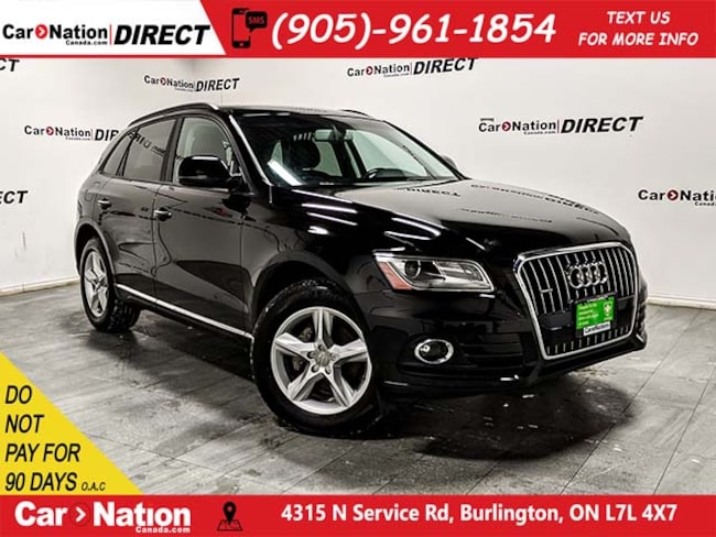 2016 Audi Q5 2.0T Komfort quattro| WE WANT YOUR TRADE| SUV DYNAMIC_PREF_LABEL_AUTO_CERTIFIED_USED_DETAILS_INVENTORY_DETAIL1_ALTATTRIBUTEAFTER