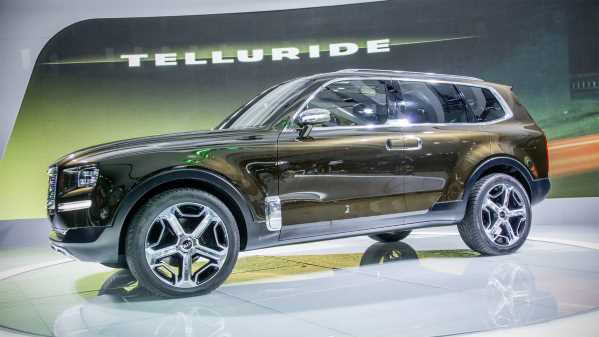 Car Nation Canada Kia Telluride Concept To Hit Production