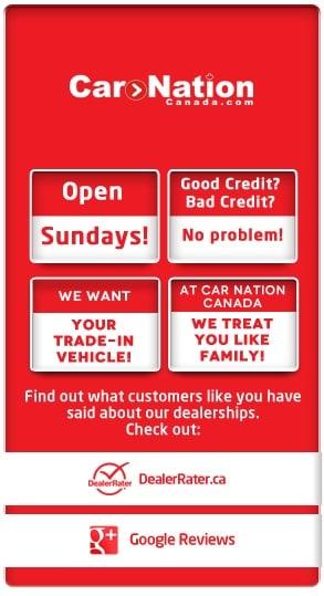 Dealerships Open On Sunday >> Car Dealerships Open Sundays Car Nation Canada