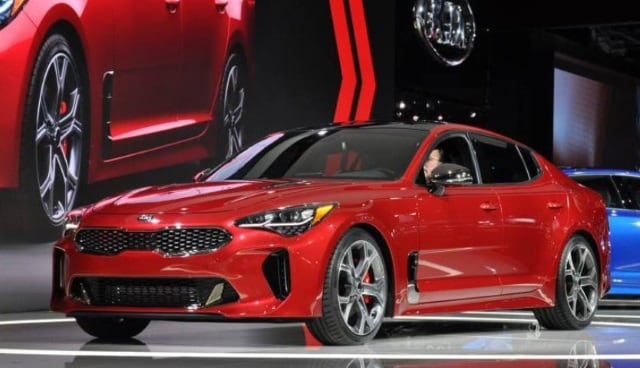 I Like The Look Of The 2018 Kia Stinger. Itu0027s A Good Looking Sports Sedan  That Proves Kia Is Maturing As A Brand And Delivering Some Great Looking  Vehicles.