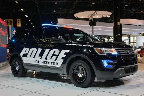 Ford Police Interceptor Utility Suv Design