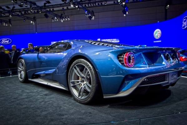 We Finally Got To See The Ford Gt In The Flesh At Geneva And What A Sight It Was In What Was One Of The Fullest Stands In The Place