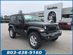 New 2020 Jeep Wrangler SPORT S 4X4 Sport Utility for sale in Lugoff, SC at Carolina Chrysler Dodge Jeep Ram