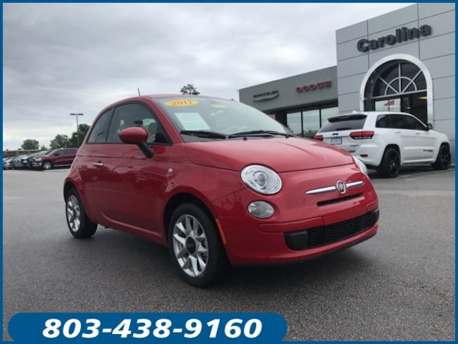 New 2017 FIAT 500 Pop Hatchback for Sale in Lugoff, SC