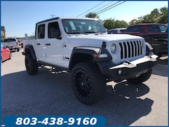 New 2020 Jeep Gladiator SPORT S 4X4 Crew Cab for sale in Lugoff, SC at Carolina Chrysler Dodge Jeep Ram