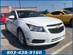 Used 2014 Chevrolet Cruze Sedan 1G1PC5SB2E7360802 for sale in Lugoff, SC at Carolina Chrysler Dodge Jeep Ram