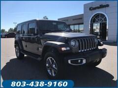 New 2019 Jeep Wrangler UNLIMITED SAHARA 4X4 Sport Utility for sale in Lugoff, SC at Carolina Chrysler Dodge Jeep Ram