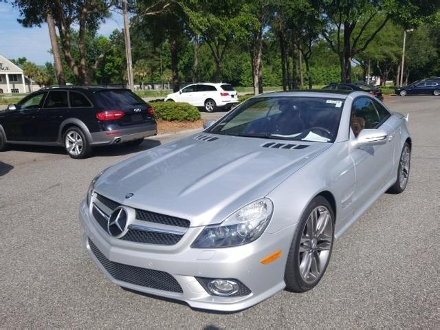 Elegant Used 2011 Mercedes Benz SL Class SL 550 Convertible In Bluffton, SC