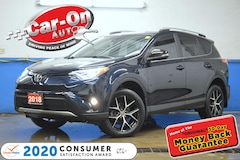 2018 Toyota RAV4 SE AWD LEATHER NAV SUNROOF REAR CAM ADAPTIVE CRUIS SUV