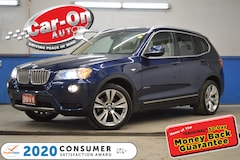 2011 BMW X3 xDrive35i LEATHER PANO ROOF REAR CAM HTD SEATS SUV