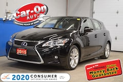 2015 LEXUS CT 200h HYBRID -TOURING PKG w/ SUNROOF Hatchback