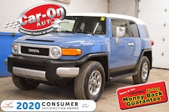 2012 Toyota FJ Cruiser CAVALRY BLUE/WHITE only 77,000KM SUV