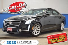 2016 CADILLAC CTS 3.6L Luxury Collection AWD NAV PANO ROOF LOADED Sedan