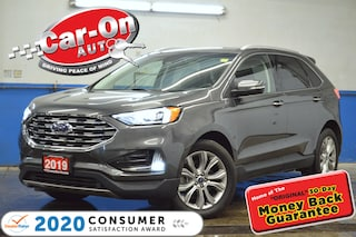 2019 Ford Edge TITANIUM AWD LEATHER REAR CAM HTD SEATS NAV READY SUV