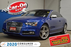 2016 Audi S5 333HP 6 SPEED MANUAL  Coupe