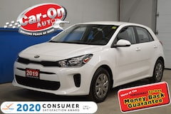 2019 Kia Rio LX AIR COND HEATED SEATS AND STEERING Hatchback