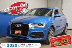 2017 Audi Q3 SUPER RARE SPORT IN HAINAN BLUE METALLIC AND LOADE SUV