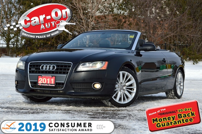 2011 Audi A5 2.0T Quattro Prem+ LEATHER NAV LOADED Convertible
