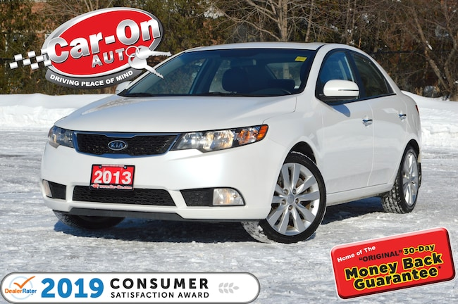 2013 Kia Forte 2.4L SX LEATHER SUNROOF HTD SEATS ALLOYS LOADED Sedan