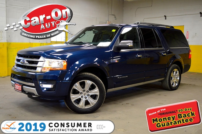 2017 Ford Expedition Max PLATINUM NAV, ROOF, LEATHER VUS