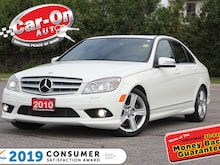 2010 Mercedes-Benz C-Class C300 4MATIC LEATHER NAV SUNROOF LOADED Sedan