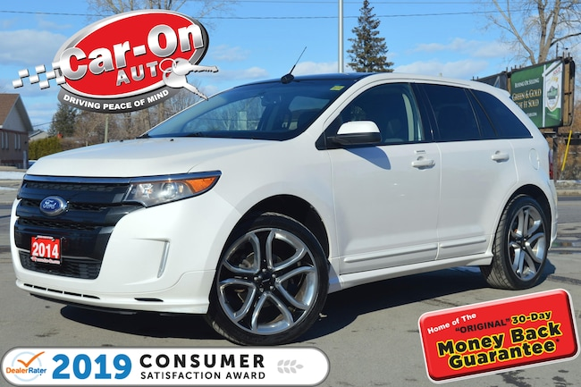 2014 Ford Edge Sport AWD LEATHER NAV PANO ROOF HTD SEATS CAM SUV