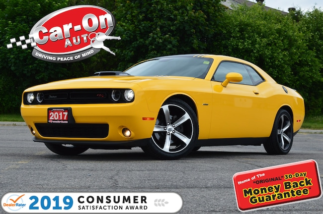 2017 Dodge Challenger R/T SHAKER 5.7L HEMI SUNROOF NAV ONLY 20, 000 KM Coupe