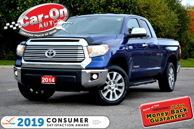 2014 Toyota Tundra Limited 5.7L V8 LEATHER REAR CAM TOW PKG LOADED Truck