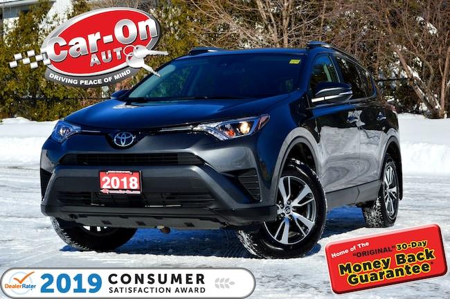 2018 Toyota RAV4 LE AWD REAR CAM HTD SEATS ADAPTIVE CRUISE LOADED SUV