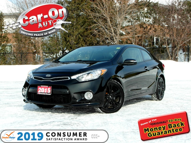 2015 Kia Forte Koup 2.0L EX w/UVO REAR CAM HTD SEATS ALLOYS Coupe