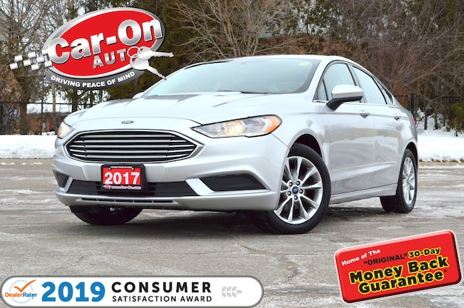 2017 Ford Fusion SE SUNROOF REAR CAM BLUETOOTH ALLOYS Sedan