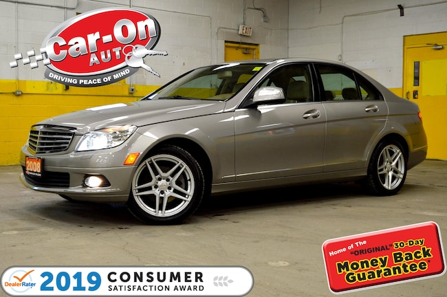 2008 Mercedes-Benz C-Class C300 4MATIC LEATHER SUNROOF HTD SEATS LOADED Berline
