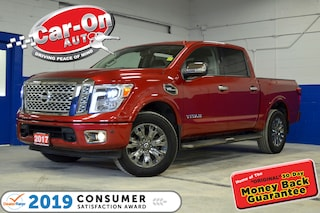 2017 Nissan Titan PLATINUM RESERVE 4X4 LEATHER NAV LOADED Truck
