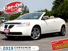 2007 Pontiac G6 GT HARDTOP LEATHER HTD SEATS ALLOYS Convertible