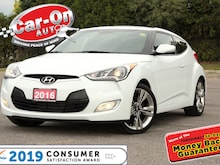 2016 Hyundai Veloster Tech ONLY 6, 800 KM LEATHER NAV PANO ROOF LOADED Coupe