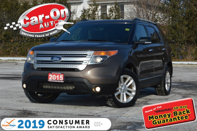 2015 Ford Explorer XLT 4WD NAV PANO ROOF REAR CAM HTD SEATS LOADED SUV