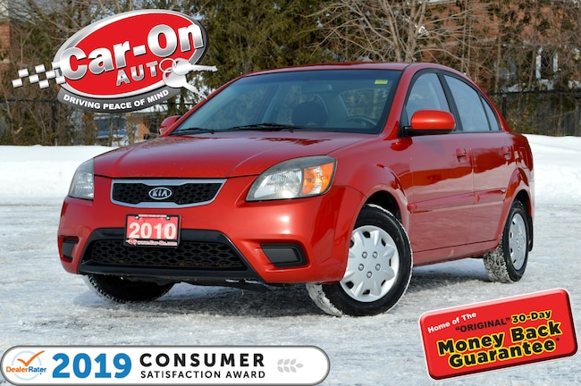 2010 Kia Rio EX BLUETOOTH ONLY $42 BI-WEEKLY o.a.c Sedan