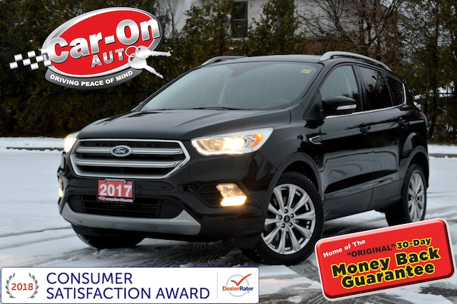 2017 Ford Escape Titanium 4WD LEATHER NAV PANO ROOF REAR CAM LOADED SUV
