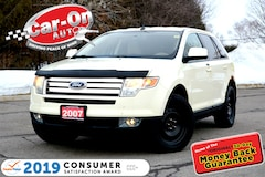 2007 Ford Edge SEL Plus AWD LEATHER HTD SEATS FULL PWR GRP LOADED VUS