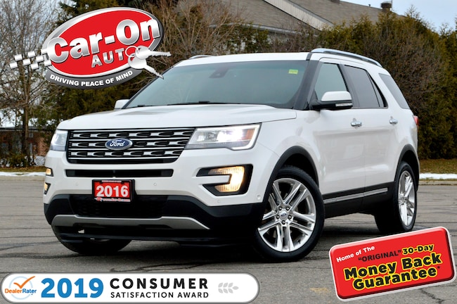2016 Ford Explorer Limited 7 SEAT LEATHER NAV PANO ROOF LOADED SUV
