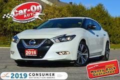 2016 Nissan Maxima LEATHER NAVI REAR CAM HTD SEATS LOADED Sedan