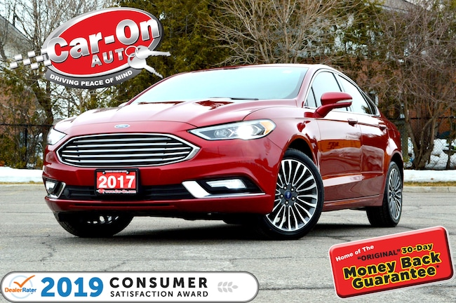 2017 Ford Fusion SE AWD ECOBOOST NAV SUNROOF REAR CAM HTD SEATS Sedan
